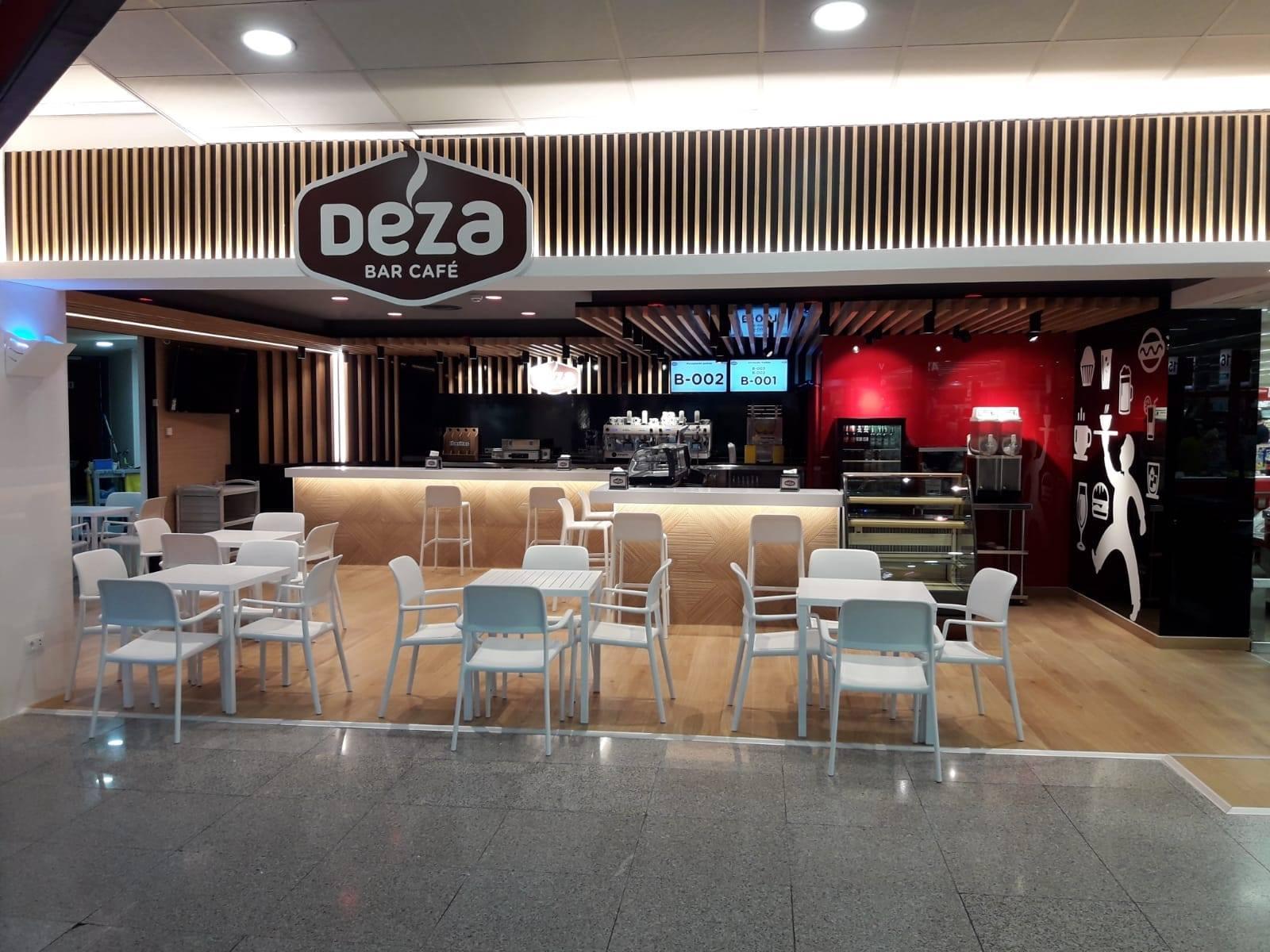 Interior de cafetería zoco